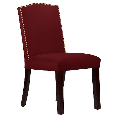 Nail Button Arched Dining Chair - Skyline Furniture