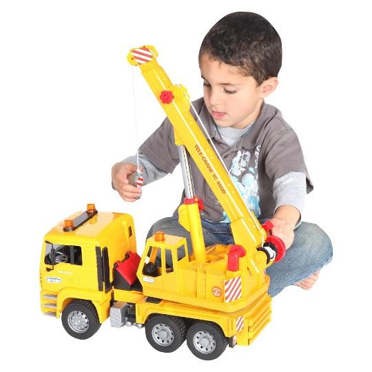 Bruder Toys MAN Crane Truck image number null