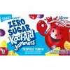 Kool-Aid Jammers Zero Sugar Tropical Punch - 10pk/6 fl oz Pouches - image 3 of 4