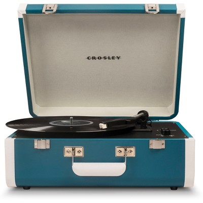 Crosley Portfolio Portable Turntable With Bluetooth - Turquoise