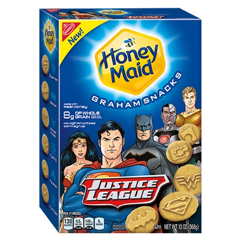 Honey Maid Justice League Graham Snacks - 13oz - image 1 of 1