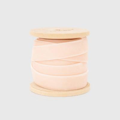 """5/8"""" Pink Velvet Ribbon - Sugar Paper™"""