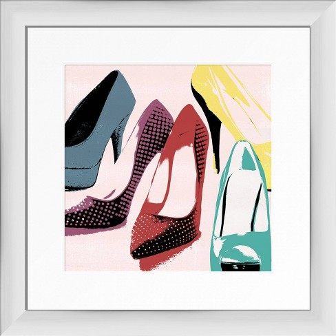 Classic Shoes Framed Wall Art Ptm Images Target