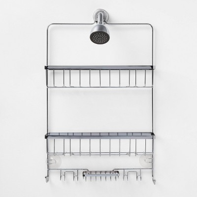 Large Bathroom Shower Caddy Chrome - Made By Design™