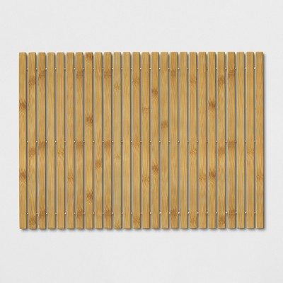 Wood Bath Rug Natural - Threshold™