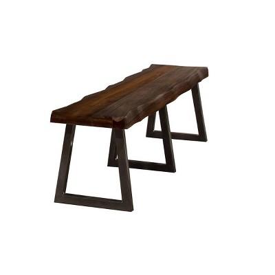 Emerson Bench Gray - Hillsdale Furniture