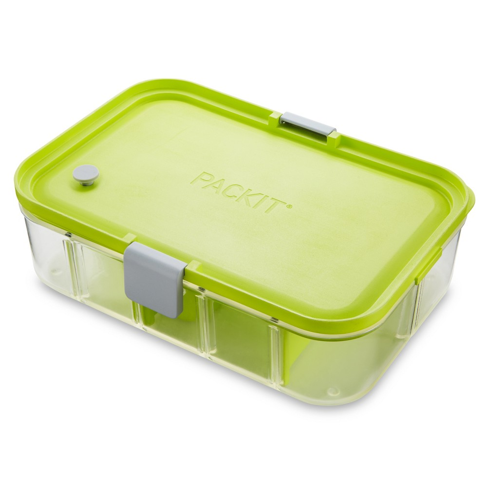 Image of PackIt FLEX Bento Container - Lime Punch, Green