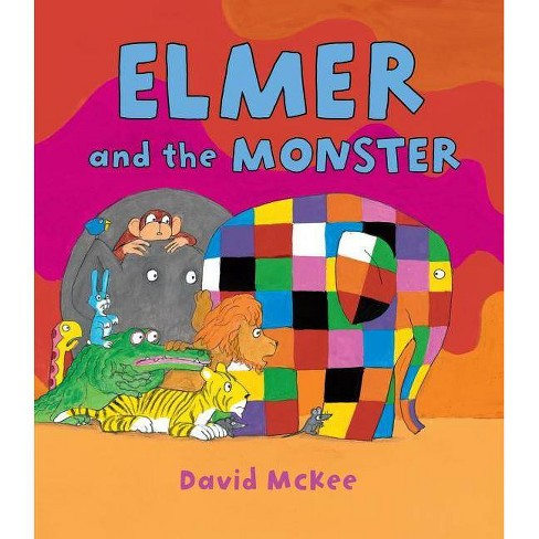 Elmer and the Monster - (Elmer Books (Andersen Press)) by  David McKee (Hardcover) - image 1 of 1