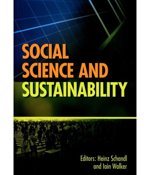 Social Science and Sustainability (Paperback) - image 1 of 1