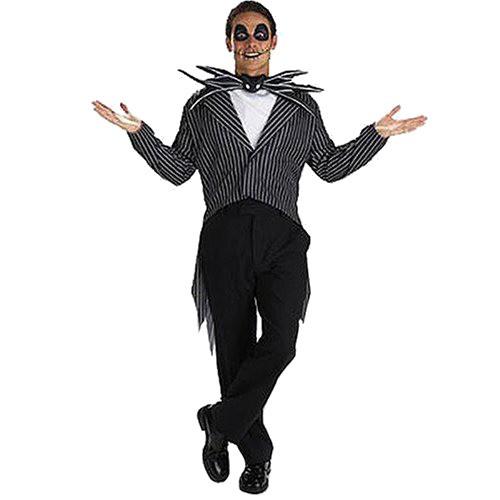 Halloween Men's Jack Skellington Costume One Size