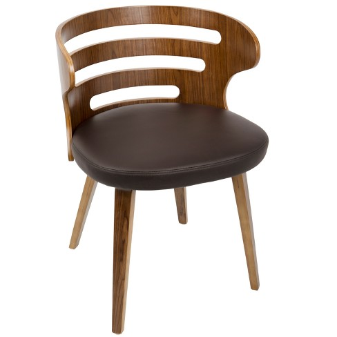 Cosi Mid - Century Modern Chair - Brown - Lumisource - image 1 of 7