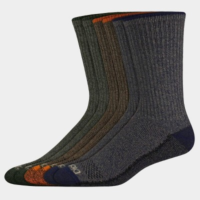 Dickies Men's Dri-Tech Tipped Crew Socks - 6-12