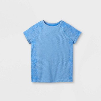 Girls' Floral Seamless T-Shirt - All in Motion™