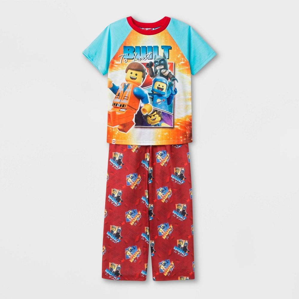 Boys' Lego Movie 2 2pc Pajama Set - Blue 8