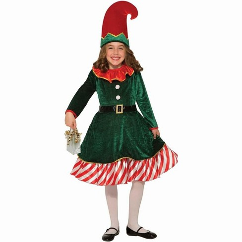 Forum Novelties Santa's Lil Elf Child Costume - image 1 of 1