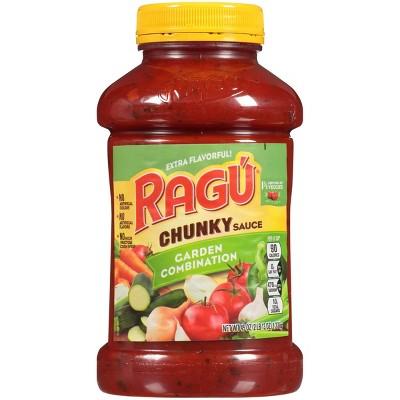 Ragu Chunky Garden Combination Pasta Sauce - 45oz