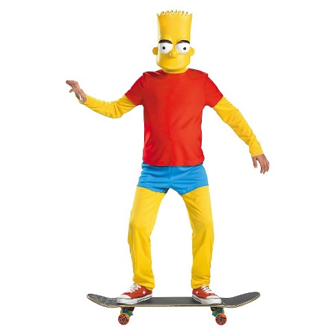 The Simpsons Boys' Bart Deluxe Costume - image 1 of 1