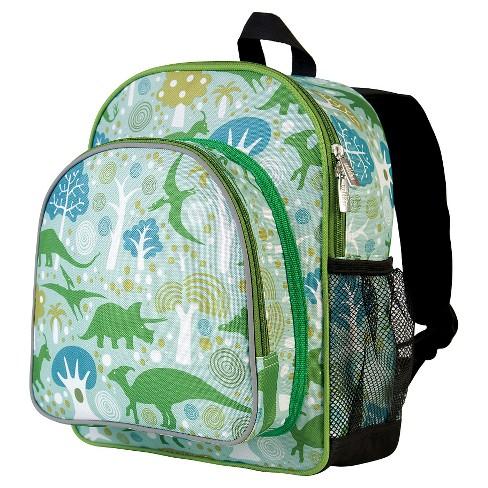 """Wildkin 12"""" Kids' Dinomite Dinosaurs Pack 'n Snack  Backpack - image 1 of 1"""
