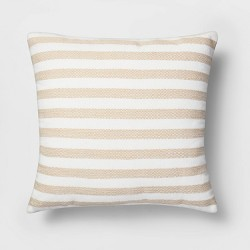 Woven Stripe Pillow - Threshold™