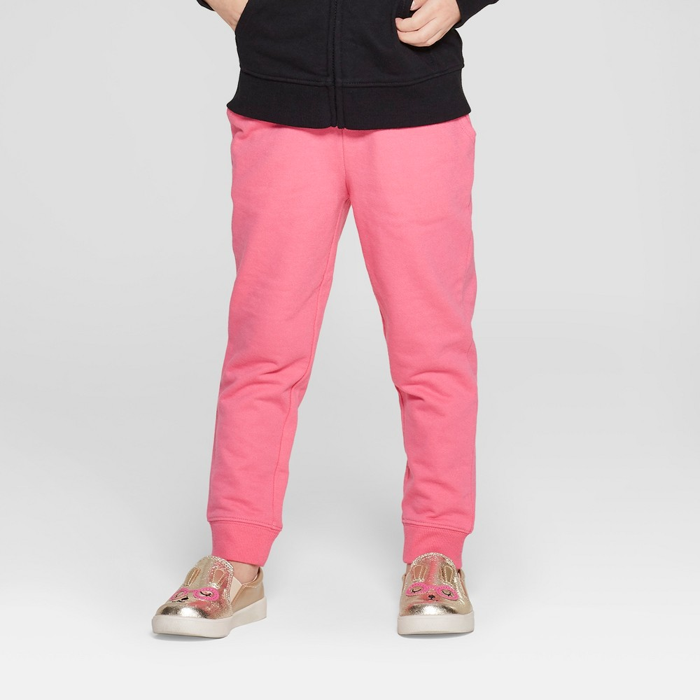 70b56a294 Toddler Girls' Jogger Pants – Cat & Jack Pink 12M