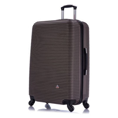 InUSA Royal 28  Hardside Spinner Suitcase - Brown