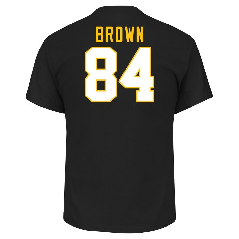 big sale 41cb9 067e5 Pittsburgh Steelers Men's Antonio Brown Jersey T-Shirt - S