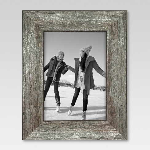 "5"" x 7"" Frame Distressed Wood - Threshold™ - image 1 of 3"