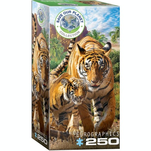 Eurographics Inc. Tigers 250 Piece Jigsaw Puzzle - image 1 of 3
