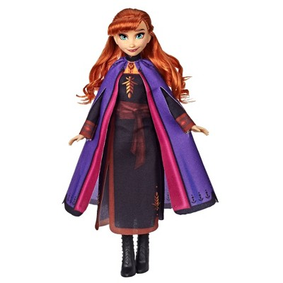 Disney Frozen 2 Anna Fashion Doll With Dress and Cape