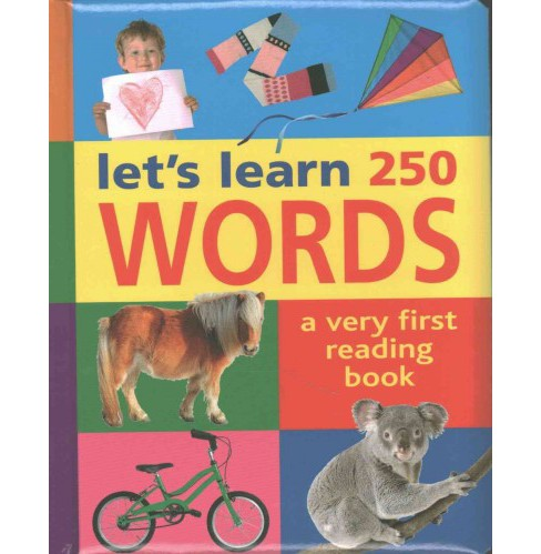 let's learn 250 Words : A very first reading book (Hardcover) - image 1 of 1
