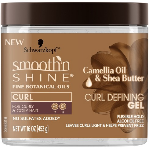 Smooth 'N Shine Camellia Oil & Shea Butter Curl Defining Gel - image 1 of 2