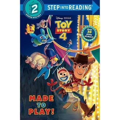 Disney/Pixar Toy Story 4 - Deluxe (Step Into Reading. Step 2) (Paperback) - by Natasha Bouchard