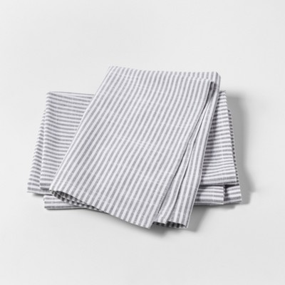 White Stripe Napkins 4pk - Threshold™