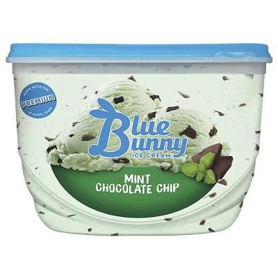 Blue Bunny Mint Chocolate Chip Ice Cream - 48 fl oz