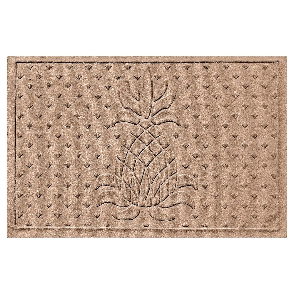 Medium Brown Solid Pressed Doormat - (2'X3') - Bungalow Flooring