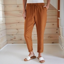 Women's High-Rise Ankle Length Taper Pants - A New Day™