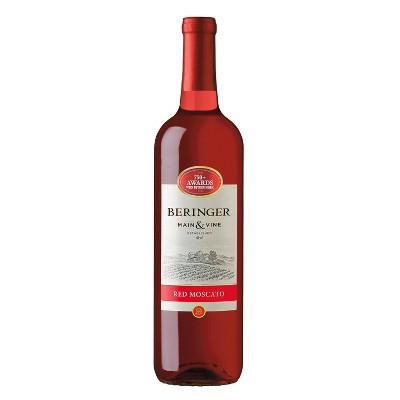 Beringer Red Moscato Wine - 750ml Bottle