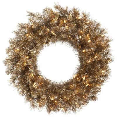 Vickerman Artificial Metal Mix Tinsel Wreath
