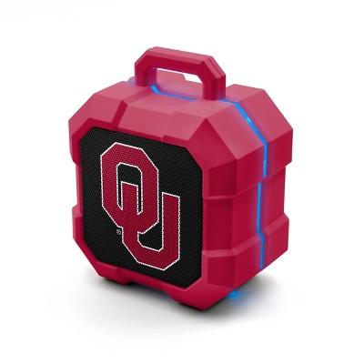 NCAA Oklahoma Sooners LED Shock Box Bluetooth Speaker