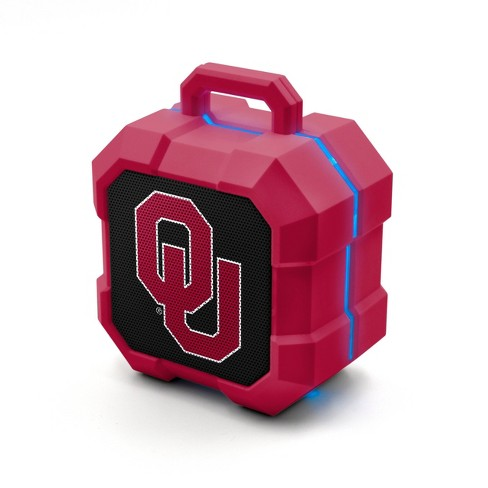NCAA Oklahoma Sooners LED Shock Box Bluetooth Speaker - image 1 of 3