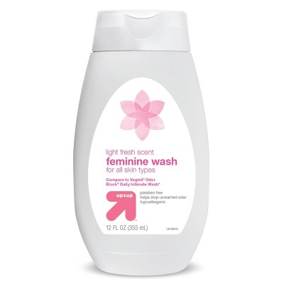 Odor Blocking Feminine Wash for Sensitive Skin Light Fresh Scent - 12 fl oz - up & up™