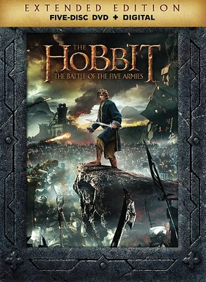 The Hobbit: The Battle of the Five Armies Extended Edition (DVD)