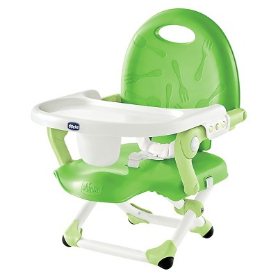Chicco PocketSnack Chair Booster Seat - Green