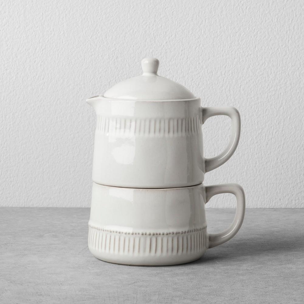 Coffee Pot & Mug Set - Cream - Hearth & Hand with Magnolia