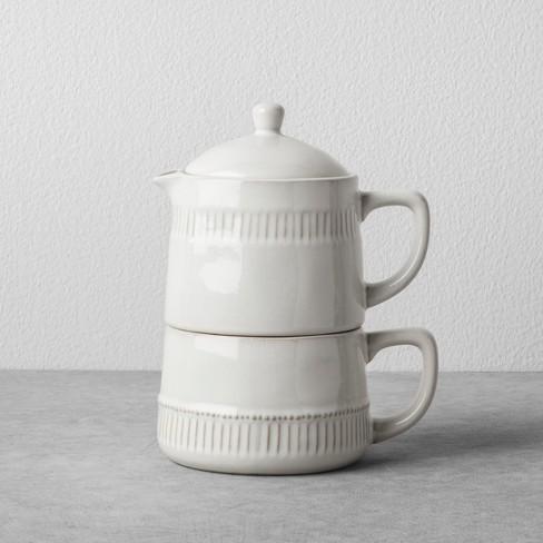 Coffee Pot Mug Set Cream Hearth Hand With Magnolia Target
