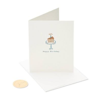 Card Birthday Cake Slice - PAPYRUS