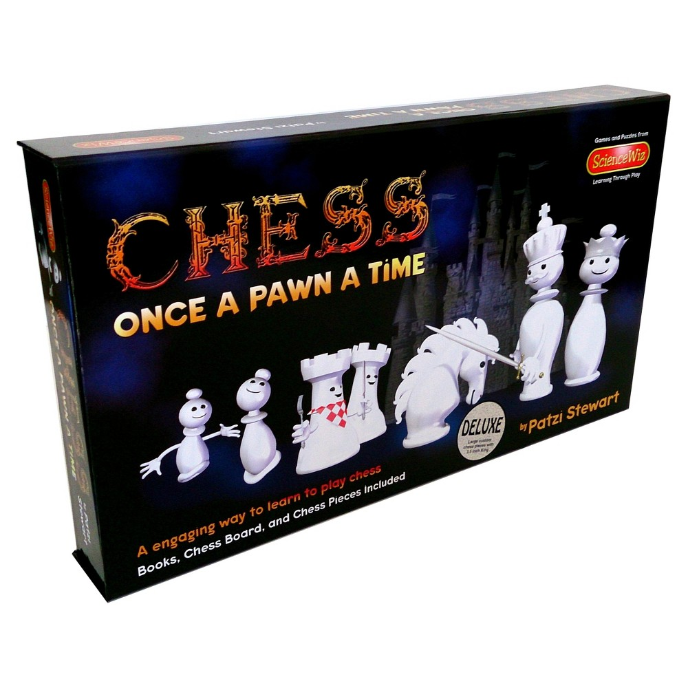 ScienceWiz Products Deluxe Chess - Once a Pawn a Time Game