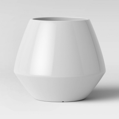 12  Mid Century Polypropylene Planter White - Project 62™