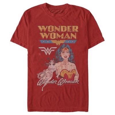 Men's Justice League Vintage T-Shirt