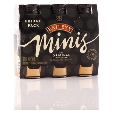 Baileys Irish Cream Liqueur Minis - 3pk/100ml Bottles - image 1 of 1